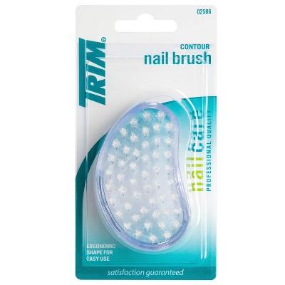 Trim Ergonomic Quality Bristles Contour Nail Brush