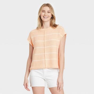 Women's Crewneck Extended Shoulder Sweater Vest - Universal Thread™