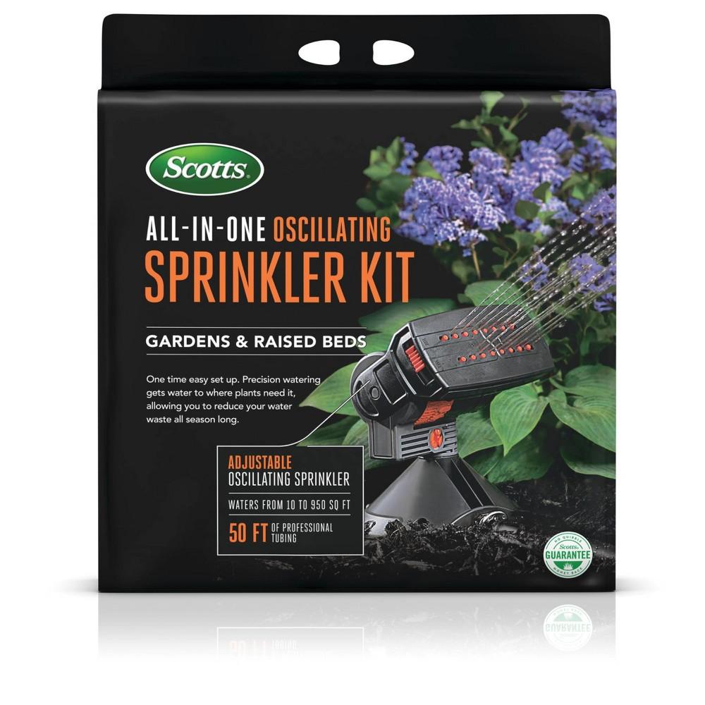 Image of Scotts All-in-One Oscillating Sprinkler Kit