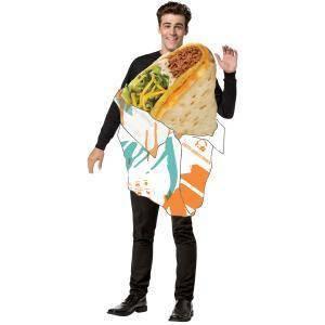 Adult Taco Bell Gordita Crunch Halloween Costume