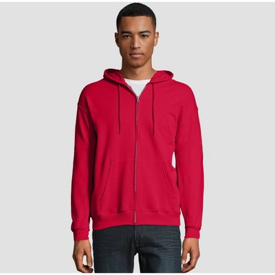 Hanes Men's EcoSmart Fleece Full-Zip Hooded Sweatshirt