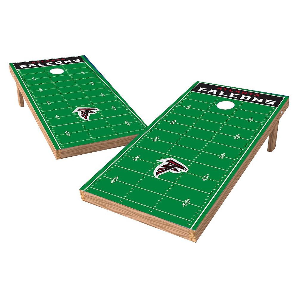Atlanta Falcons Wild Sports XL Shield Football Field Cornhole Bag Toss Set - 2x4 ft.