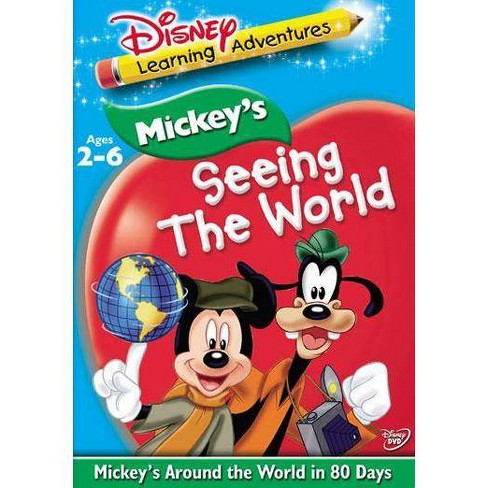 Disney Learning: Mickey's Seeing the World (DVD) - image 1 of 1
