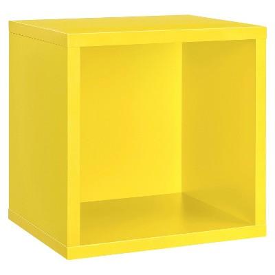 Dolle Shelving Wall Cube Shelf - Yellow