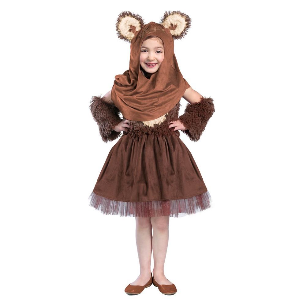 Princess Paradise Star Wars Girls' Classic Wicket W. Warrick Dress Halloween Costume - XS
