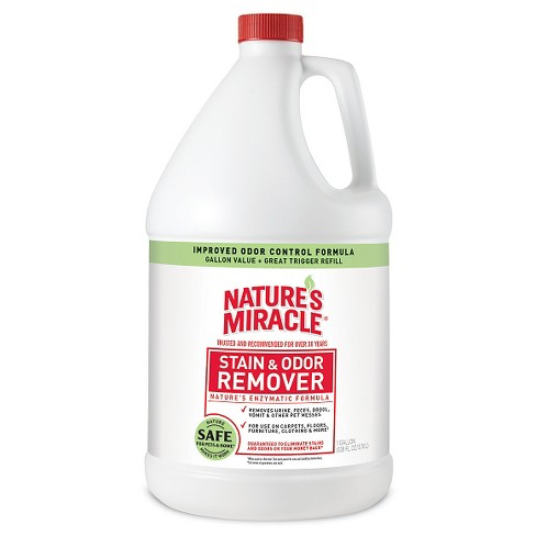 Nature's Miracle Gallon Pour Pet Stain Remover - image 1 of 3