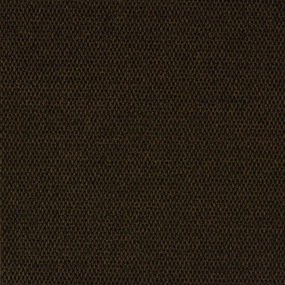 24 10pk Self Stick Carpet Tile Mahogany - Foss Floors Reviews
