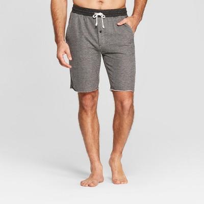 Men's French Terry Pajama Shorts - Goodfellow & Co™ Black M