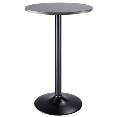 Tarah Pub Table Bar Height Slate Gray - Winsome