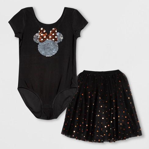 a8d6027916bc Girls' Disney Minnie Mouse Tutu Dress - Black L : Target