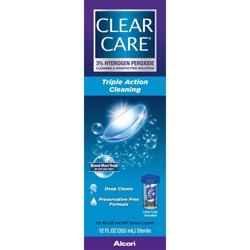 Clear Care Triple Action Cleaning and Disinfecting Solution