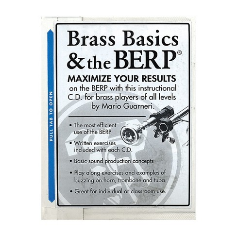 Berp Buzz Extension and Resistance Piece Brass Basics and The B.E.R.P. CD - image 1 of 1