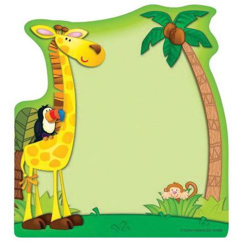 Carson-Dellosa Jungle Notepad, 5-3/4 x 6 Inches, 50 Sheets - image 1 of 1