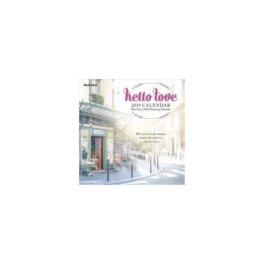 Hello Love 2019 Calendar - (Paperback)