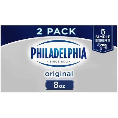 Philadelphia Original Cream Cheese - 2pk/8oz Boxes