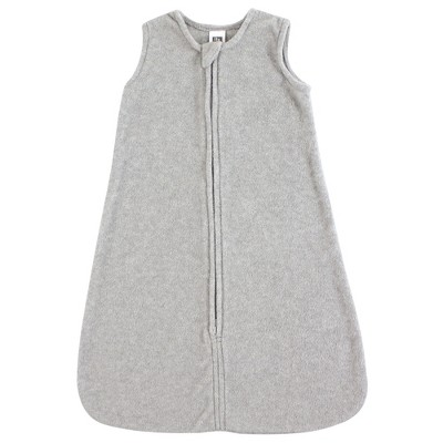 Hudson Baby Infant Plush Sleeping Bag, Sack, Blanket, Heather Gray Fleece