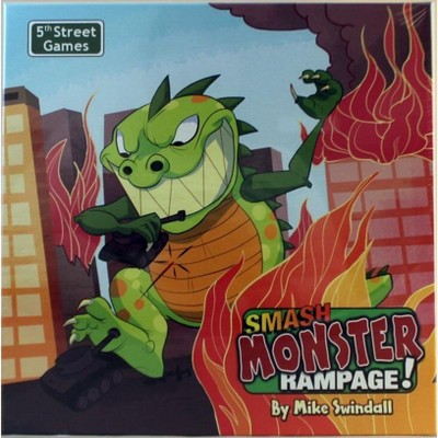 Smash Monster Rampage Board Game Target