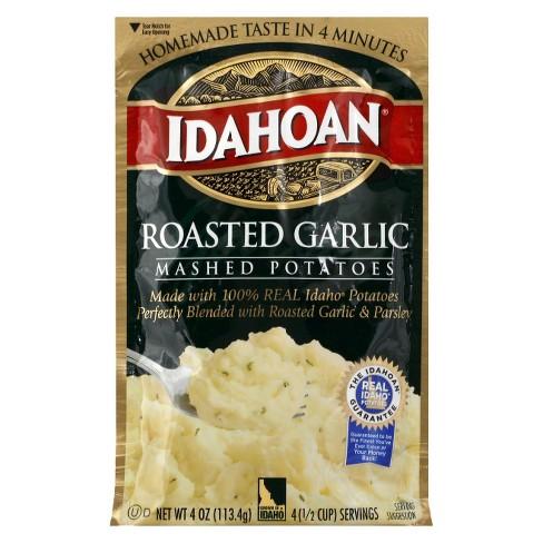 Idahoan Roasted Garlic Mashed Potatoes 4 oz - image 1 of 1