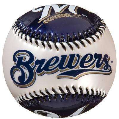 MLB Milwaukee Brewers Soft Strike Baseball