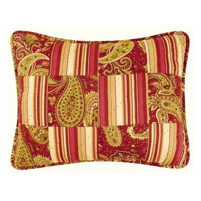 """C&F Home 12"""" x 16"""" Firenze Pieced Pillow"""
