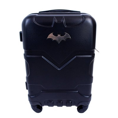 "DC Comics 21"" Batman Hardside Carry On Spinner Suitcase - Black"