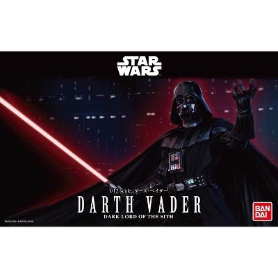 Bandai Hobby Star Wars Darth Vader 1/12 Scale Action Figure Model Kit