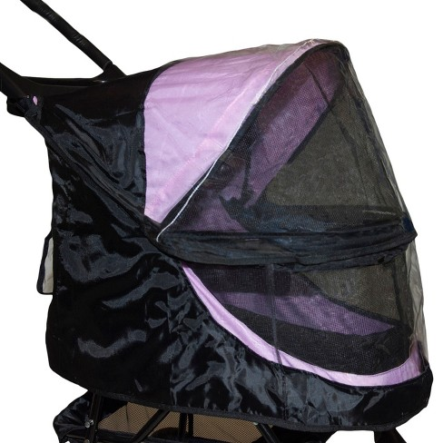 Pet Gear - Weather Cover for No-Zip Happy Trails Stroller For Dog & Cat - Black - image 1 of 1