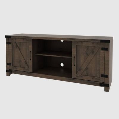 Cache Media Console Table Dark Oak - RST Brands