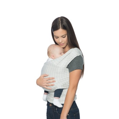 Ergobaby Aura Stripes Baby Wrap - Gray