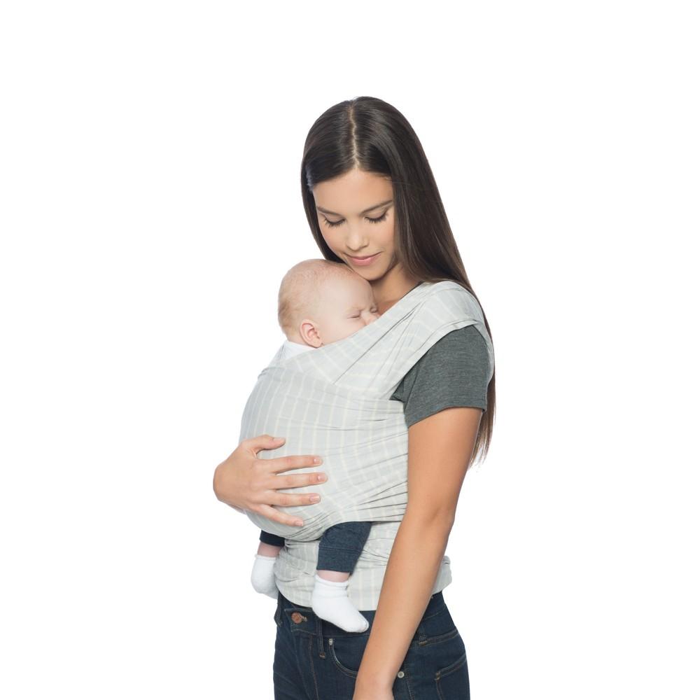 3fcef89ed9d Ergobaby Aura Stripes Baby Wrap - Gray