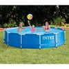 Intex 12 Foot x 30 In. Above Ground Pool & Intex 12 Foot Round Pool Cover - image 3 of 4