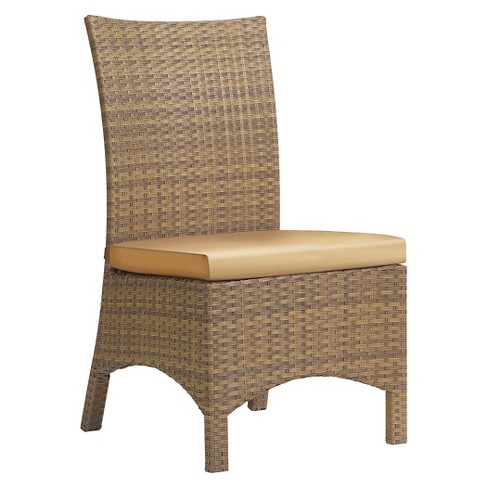 Oxford Garden Torbay Sidechair Antique Wicker - Set of 2 - image 1 of 5