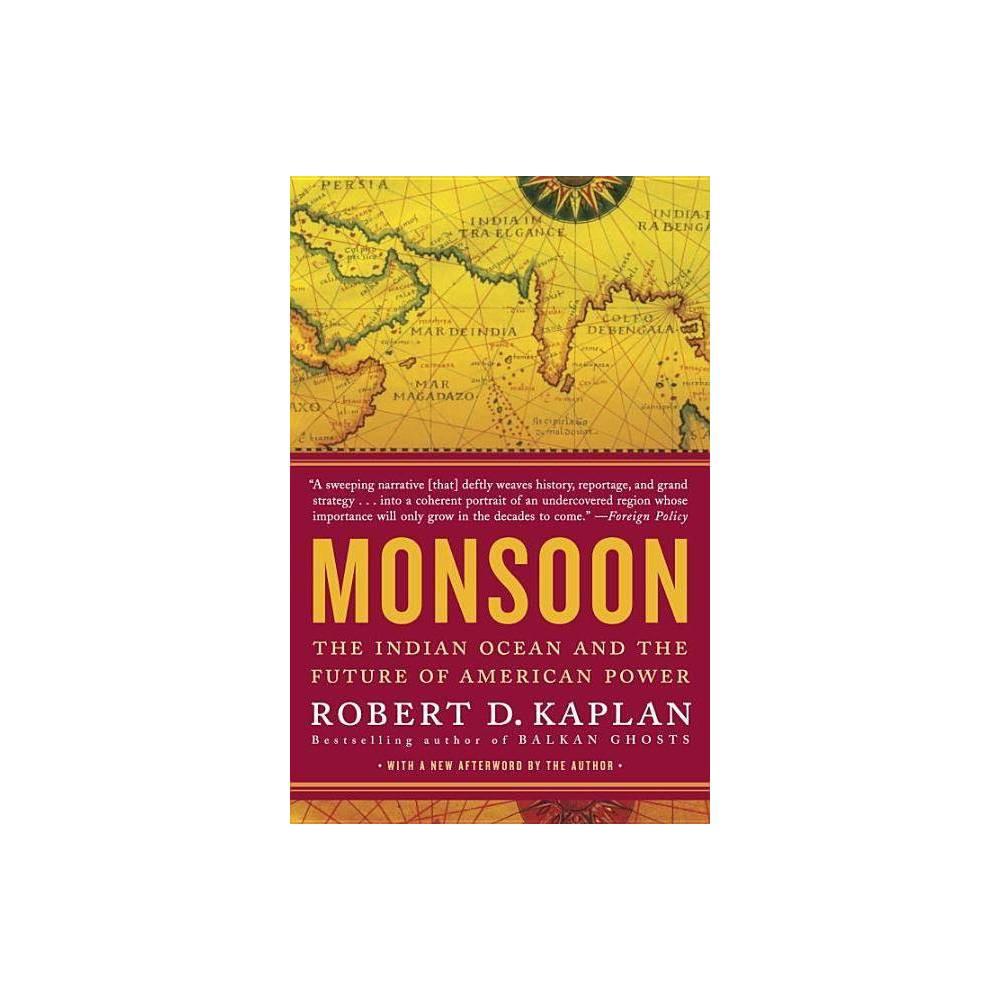 Monsoon By Robert D Kaplan Paperback