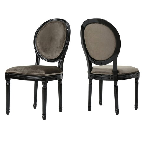 Camille New Velvet Dining Chair (Set of 2) - Christopher Knight Home - image 1 of 4