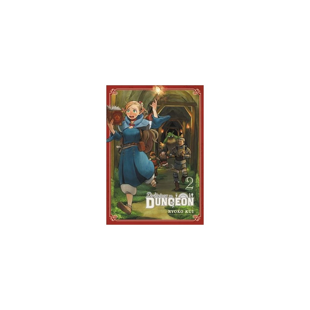 Delicious in Dungeon 2 - (Delicious in Dungeon) by Ryoko Kui (Paperback)