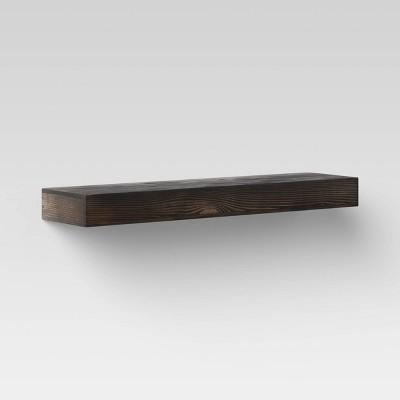 Floating Wood Wall Shelf - Threshold™