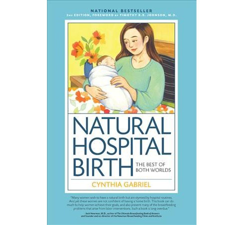 Natural Hospital Birth : The Best of Both Worlds -  by Cynthia Gabriel (Paperback) - image 1 of 1
