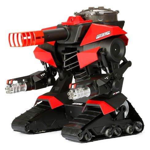 New Bright Radio Control RC FF 12 8V M E C H Red & Black Robo Cannon 15 25