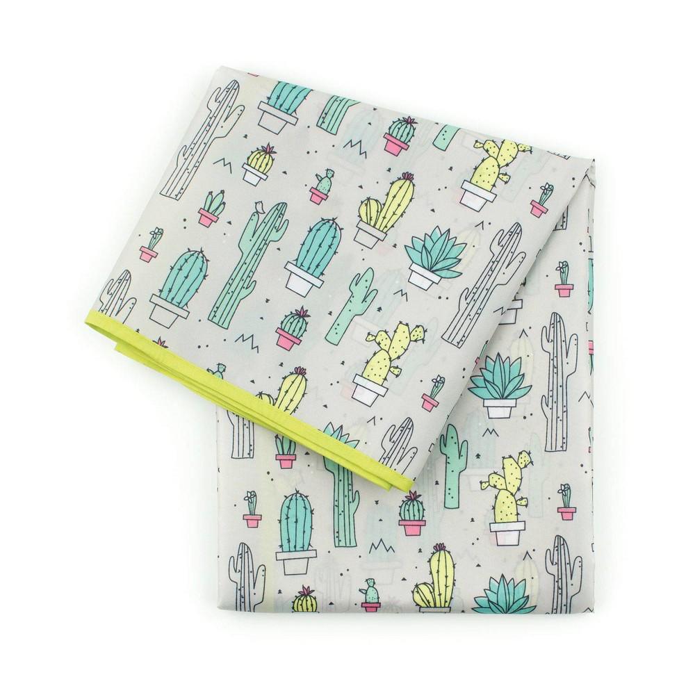Image of Bumkins Cacti Splat Baby Floor Mat
