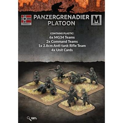 Panzergrenadier Platoon Miniatures Box Set