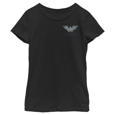 Girl's Wonder Woman 1984 Chest Logo T-Shirt