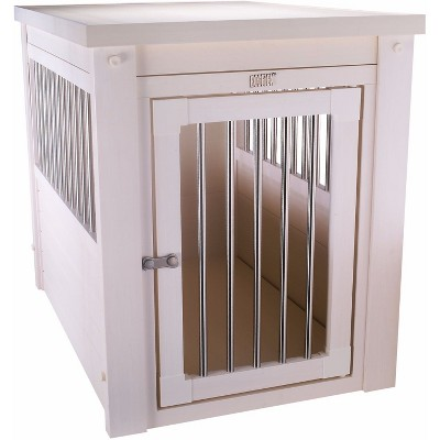 New Age Pets Dog Crate - Light Off White