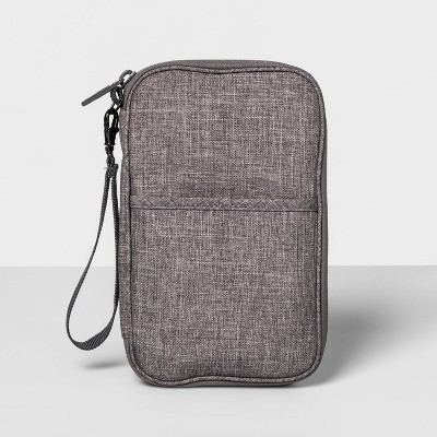 Travel Wallet Heather Gray - Made By Design™