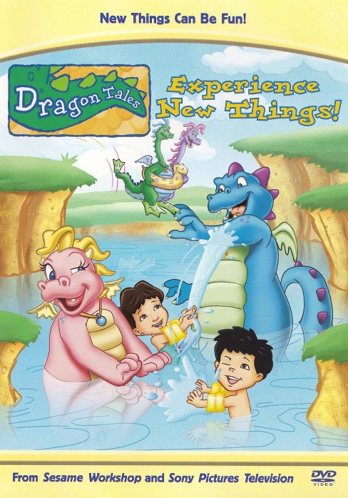 Dragon tales:Experience new things! (DVD) - image 1 of 1