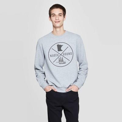 North Bound Graphic Sweatshirt - Awake Gray