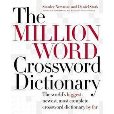 Million Word Crossword Dictionary The World S Biggest Newest
