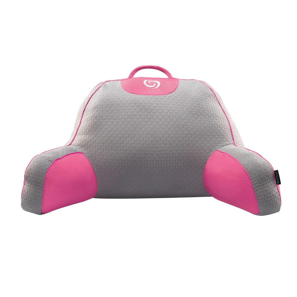 Image of Fusion Performance Support Pillow (Pink/Gray) - Bedgear