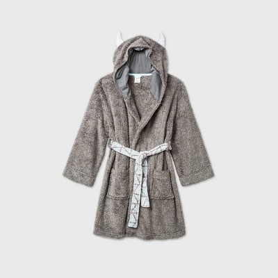 Boys' Yeti Robe - Cat & Jack™ Gray L