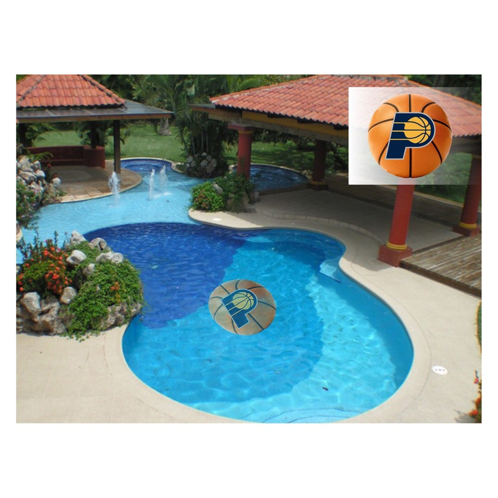 NBA Indiana Pacers Small Pool Decal