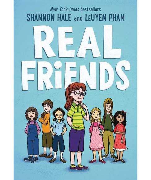 Real Friends -  by Shannon Hale (Hardcover) - image 1 of 1